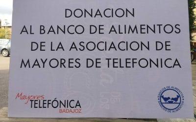 Donación al Banco de Alimentos de Badajoz > 16 Noviembre 2020
