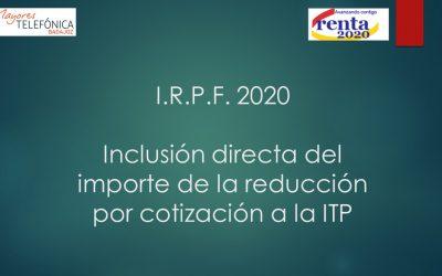 Declaración Renta 2020