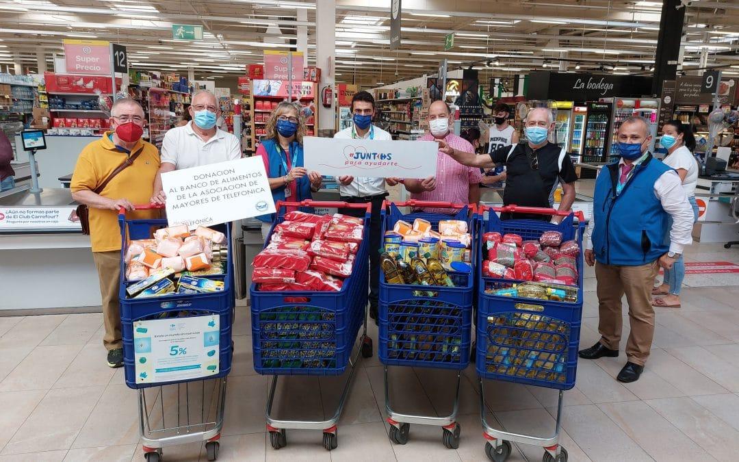 Donación al Banco de Alimentos de Badajoz > 30 Septiembre 2021